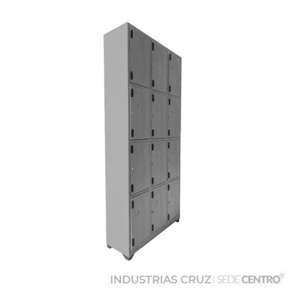 Locker Metálico de 12 Puertas