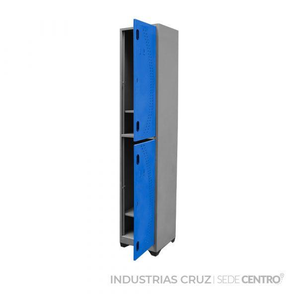 Locker Metálico de 2 Puertas